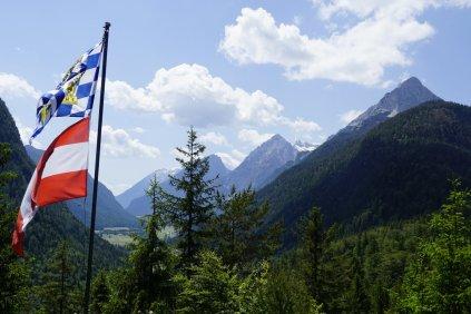 Der bayerisch-tirolerische Berggasthof.