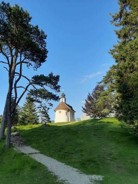 Kapelle am Lautersee.