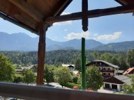 Panorama vom Balkon.