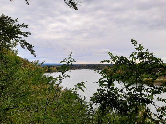 Bergblick vom Hochuferweg.